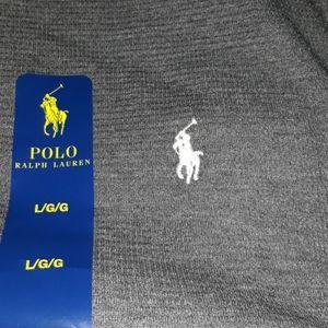 Polo long sleeve size large